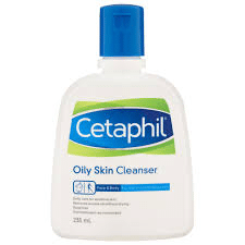 Cetaphil Oily Skin Cleanser is the best facial cleanser for acne caused by oily skin in Klang Valley