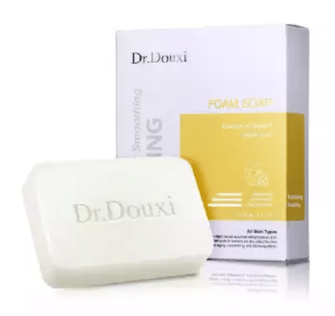 Dr.Douxi Essence of Eggshell Cream Soap Face Cleanser is the best drugstore cleanser for oily skin malaysia