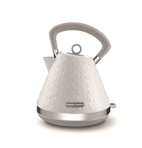 Best Looking Kettle in malaysia - Morphy Richards Vector White Pyramid Kettle 1.5L