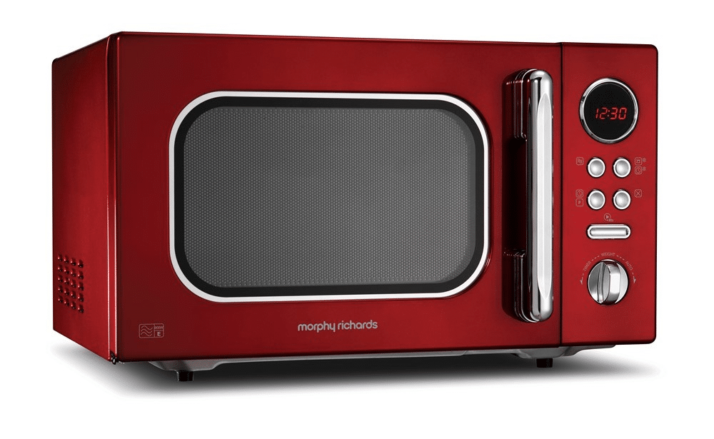 Morphy Richards 23L Accents Red Microwave Oven 511512 is Best Microwaves of 2020 Review