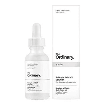 The Ordinary Salicylic Acid 2% Solution is Best pro Acne solution in Malaysia. best skin care products.