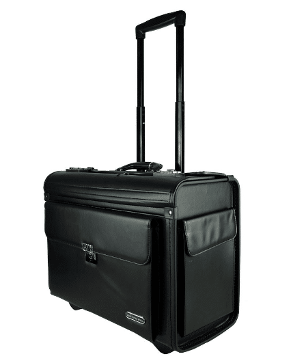 Water Polo Pilot Case Trolley is best luggage brands Malaysia