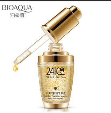 Bioaqua 24K Gold Essence Face Serum is Best Anti Aging Products In Malaysia