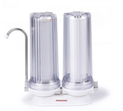 Pensonic Double Stage Water Filter is the Best Water Filters in Malaysia For Your Home, Best alkaline water filter