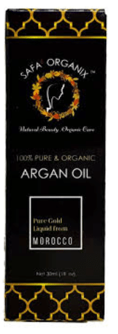Safa' Organix 100% Pure Argan Oil