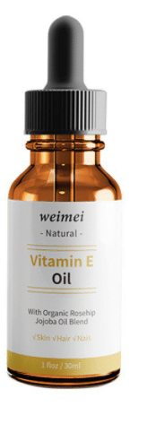 Weimei Organic Vitamin E Jojoba and Rosehip Oil
