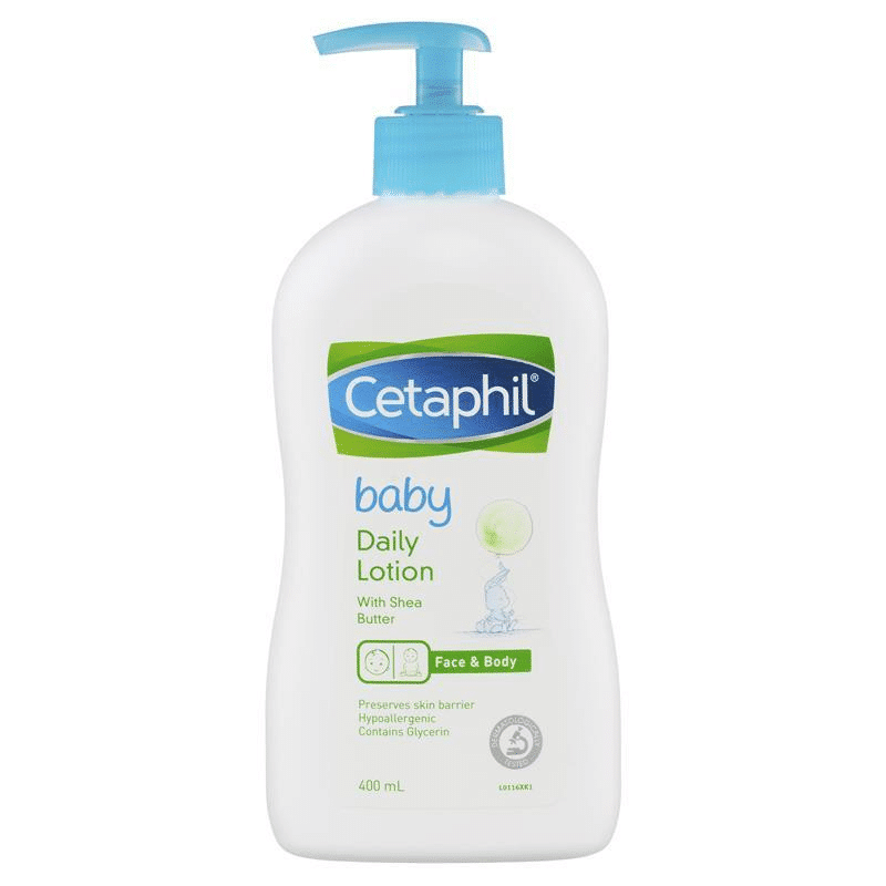 Cetaphil Baby Daily Lotion children infant baby's skin care routine