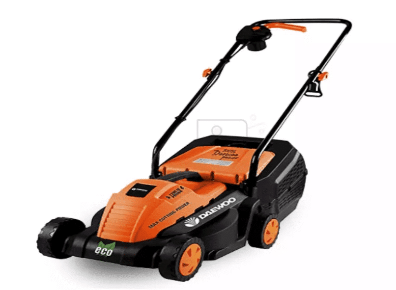 DAEWOO Power Products DLM1400E Electric Lawn Mower is the Best lawn mower this year The best electric, cordless, petrol and manual