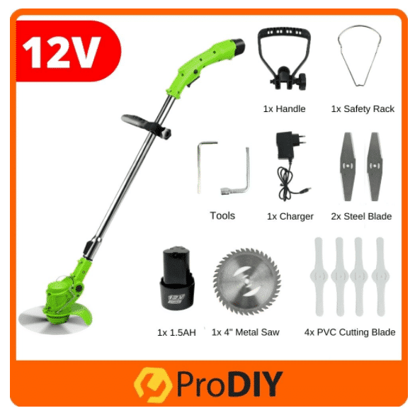 PRODIY 12V Lithium Battery Cordless Electric Lawn Mower is the Best lawn mowers this year – the top models for cutting the lawn and clearing leaves