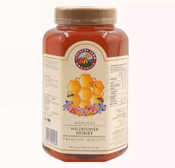 Country Farm Organic Wild Flower Honey is the 10 Best Honey in Malaysia this year For Your Health