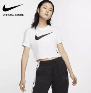 Nike Women's Sportswear Swoosh Short-Sleeve Top