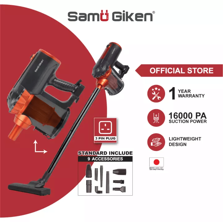 Samu Giken Vacuum Cleaner Handheld Dust Collector is the most powerful cordless vacuum cleaner