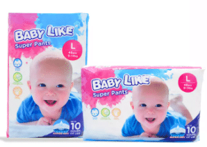 Baby Like Super Pants is Top 10 Diaper Brands In Malaysia