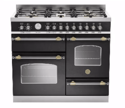 BERTAZONNI HER100 Heritage Series 6-Burner 2-Oven Freestanding Gas Cooker is the best freestanding cooker with Oven to buy in Malaysia, 5 Best Gas Range Stove Reviews Malaysia, Best gas range for home chef