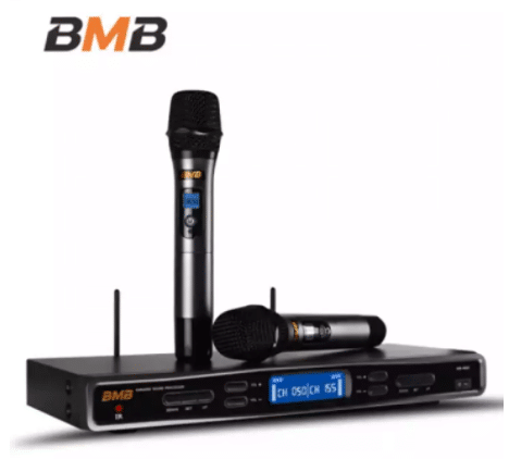 BMB WB-5000S UHF Wireless Home Karaoke System is 5 Best Home Karaoke Systems in Malaysia