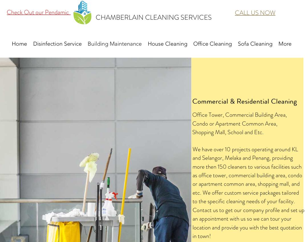 Chamberlain Cleaning Services is Top 10 House Cleaning Services in KL & Selangor