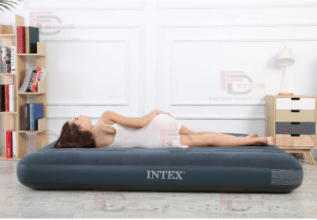 Intex Standard Inflatable Air Bed Mattress is the top 20 Best Mattresses in Malaysia, Why does my Intex air mattress keeps deflating? due to temperature and pressure exerted on the mattress all night, it may seem to deflat in the morning. however the air mattress will inflate later on when the temperature and pressure gets back to normal.