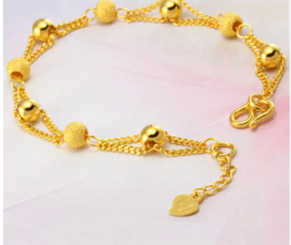 KEMSTONE Creative Gold Plated Bracelet with Copper Beads, best cheap Poh kong Bracelet, where to get cheap poh kong bracelet lookalike
