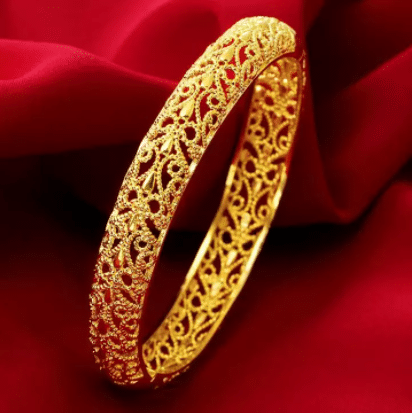 KEMSTONE Luxury Hollow Gold Plated Bracelet, gold bracelet - Prices and Promotions, 916 Gold Bracelet malaysia price