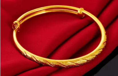 Tommy & Laura Gold Series Bangle Collection, Gold Bracelet for men, Buy Gold Bracelets for Men Online with Designs with Price, Gold bracelet for men under Rm500