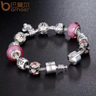 What to Buy For Friend's Birthday in Malaysia? Bamoer Silver Plater Charm is a good present to Buy For Friend's Birthday in Malaysia