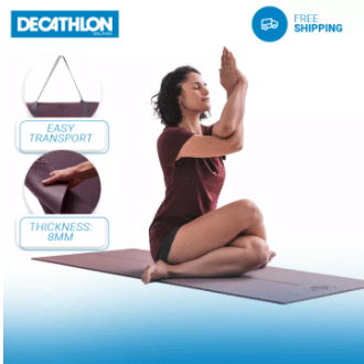 Decathlon Non-Slip Yoga Mat is top 10 malaysia mco things to buy, things to buy during mco, MCO 3.0: What Malaysians Are Buying in Lockdown, 10 Things Malaysians Buy Online More Often Since The MCO, What should I buy at MCO?, What are Malaysians buying online during the MCO?