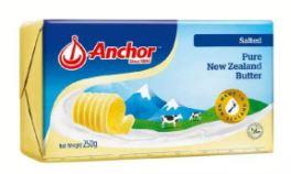 Anchor Salted Butter is the Top 10 Best Butter in Malaysia for your roti