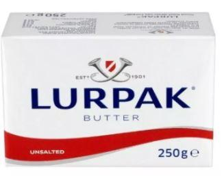 Lurpak Unsalted Butter brand butter is best, how to eat butter, to enjoy this world class butter made from top quality Danish milk, pat and throw a lump luxuriously and then bite leaving your teeth mark.