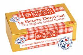 Paysan Breton Salted Butter is best in Malaysia Singapore, most suitable for lovers of high quality french butter, the butter comes with lovely fluted sides inside its foil paper package, where to buy french butter in Malaysia