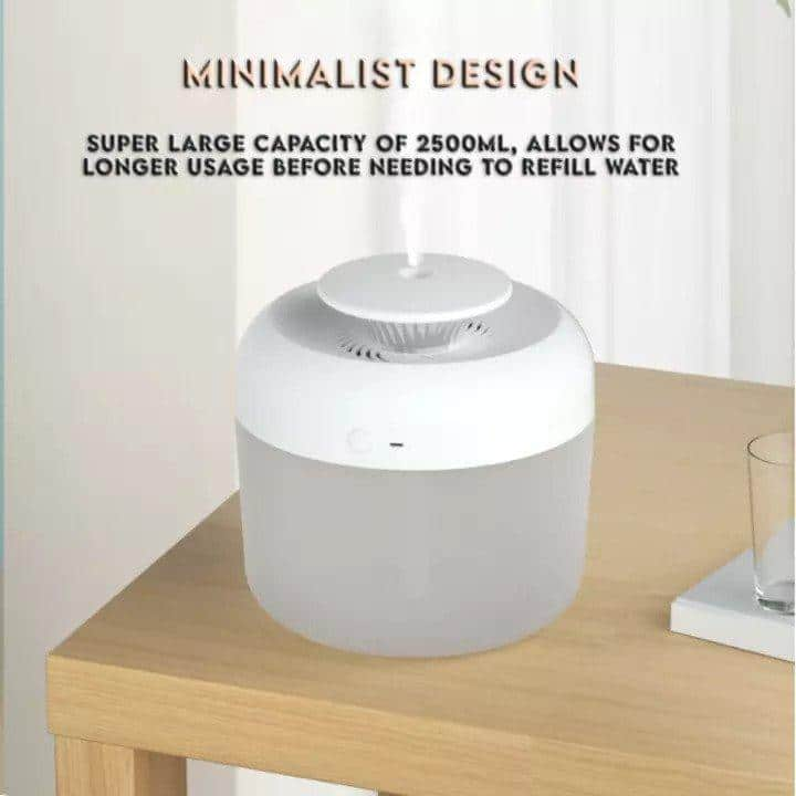 Silent Air Humidifier Night Light 2400ML is 10 Best Humidifiers in Malaysia for Optimal Humidity, air humidifier purpose, Do humidifiers clean the air?, Are air humidifiers good?, Can you sleep with a humidifier on?