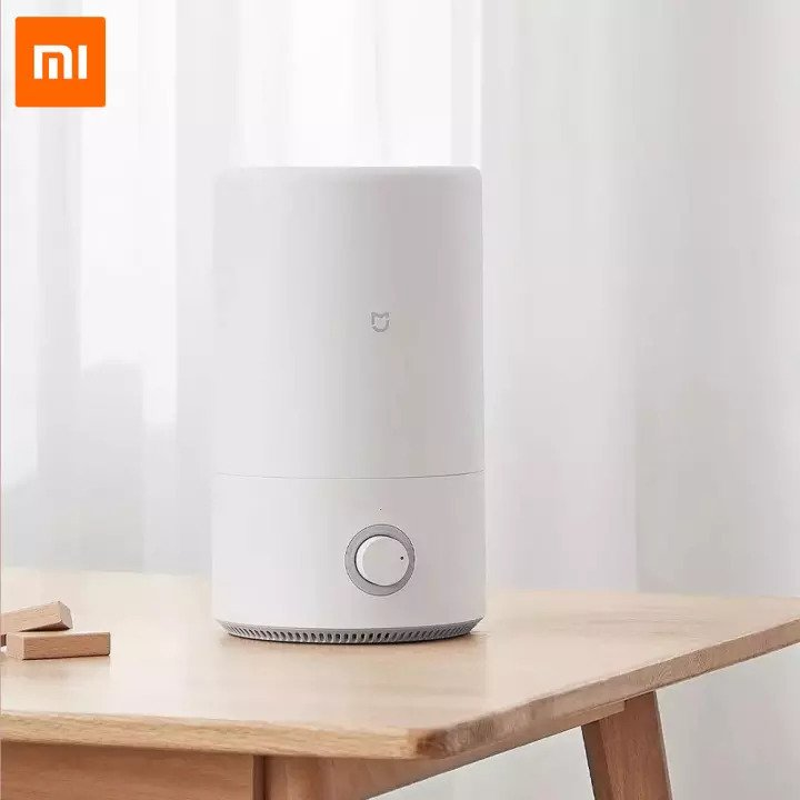 Xiaomi Mijia 4L Air Humidifier is top 10 Best air purifier and humidifier Malaysia, comes with 4L water tank small but able to last for quite a while, educes the sound of large particles of water mist, best humidifier for baby, best air purifier for allergies and asthma malaysia, Xiaomi Mijia humidifier review