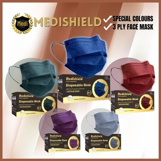 Medishield 3 ply Non-Medical Disposable Mask - Full Denim Blue (50pcs) is an Essential Items Required For Malaysians during COVID-19, Your Essential Guide to Stuff need at home in Covid 19