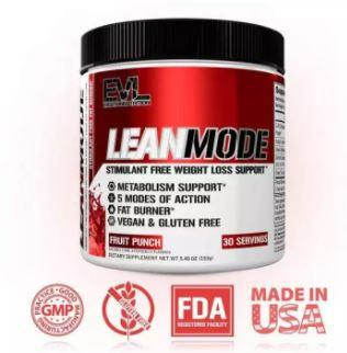 EVLution Nutrition LEANMODE is Top 10 Weight Loss Pills in 2021 2022 That Really Work, Best fat burner 2021 bodybuilding, What is the best fat burner for belly fat?