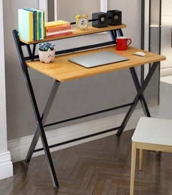 GDEAL Adjustable Standing Bed Desk is Best for Space Savers is top 10 standing height adjustable desk Malaysia, loctek standing desk,   height adjustable table ikea, auto adjustable desk, manual adjustable desk