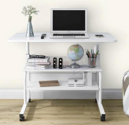 Height Adjustable Computer Bedside Desk is Best for Small Spaces Malaysia, top 10 sit stand desk Malaysia, standing desk shopee, loctek standing desk,  height adjustable desk, How do manual standing desks work?, Which adjustable desk is best?, Are manual standing desks worth it?, height adjustable table ikea, auto adjustable desk, manual adjustable desk,